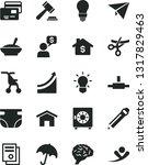 solid black vector icon set  ... | Shutterstock .eps vector #1317829463