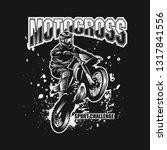 motocross sport challenge...   Shutterstock .eps vector #1317841556