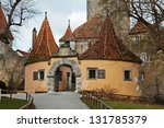 castle gate of the famous... | Shutterstock . vector #131785379