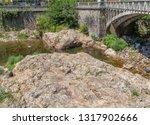 scenery around vals les bains ... | Shutterstock . vector #1317902666