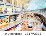 singapore   march 08  shopping... | Shutterstock . vector #131793338