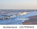 waves on the sea near the sandy ... | Shutterstock . vector #1317939443