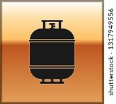 black propane gas tank icon... | Shutterstock .eps vector #1317949556