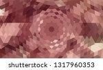 geometric design. colorful... | Shutterstock .eps vector #1317960353