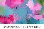 geometric design. colorful... | Shutterstock .eps vector #1317961310