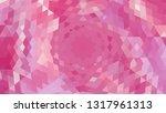 geometric design. colorful... | Shutterstock .eps vector #1317961313