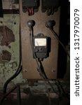 defunct 1950's electrical... | Shutterstock . vector #1317970079