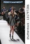 new york   february 8  model... | Shutterstock . vector #131797286