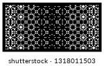 arabesque vector gradient panel....   Shutterstock .eps vector #1318011503