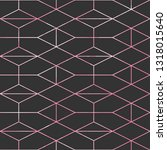 geometric background with... | Shutterstock .eps vector #1318015640