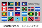 national countries flags of... | Shutterstock .eps vector #1318019519