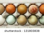 Colorful Organic Chicken Eggs...