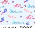 traditional chinese seamless... | Shutterstock .eps vector #1318042433