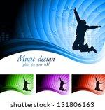 abstract music design | Shutterstock . vector #131806163