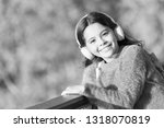 happy and carefree. happy girl... | Shutterstock . vector #1318070819