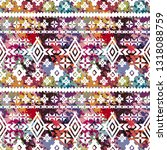 ethnic seamless pattern. tribal ... | Shutterstock .eps vector #1318088759