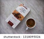 gomel  belarus   february 10 ... | Shutterstock . vector #1318095026