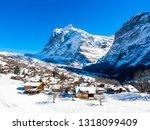 Winter Landscape In Grindelwald ...