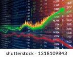 stock market investment concept ... | Shutterstock . vector #1318109843
