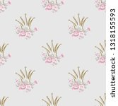 cute seamless pattern with... | Shutterstock .eps vector #1318155593
