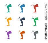 knee hammer reaction check icon ...   Shutterstock .eps vector #1318173743