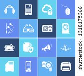 technology icon set and 3d... | Shutterstock .eps vector #1318175366