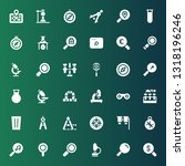 discovery icon set. collection...   Shutterstock .eps vector #1318196246