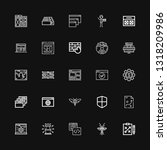 editable 25 software icons for...