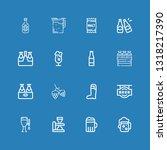 editable 16 pint icons for web...   Shutterstock .eps vector #1318217390