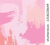 abstract colorful pink paint... | Shutterstock .eps vector #1318228649