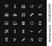 editable 25 acoustic icons for... | Shutterstock .eps vector #1318231490