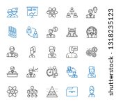 organization icons set.... | Shutterstock .eps vector #1318235123
