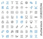 gear icons set. collection of... | Shutterstock .eps vector #1318235246