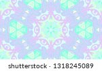 whimsical ethnic seamless... | Shutterstock .eps vector #1318245089