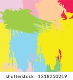 abstract colorful paint brush... | Shutterstock .eps vector #1318250219
