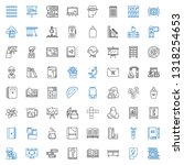 education icons set. collection ... | Shutterstock .eps vector #1318254653
