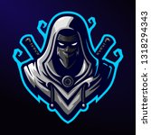 Assassin / Ninja eSports Mascot Logo