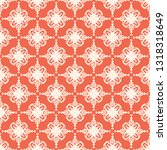 seamless decorative vector... | Shutterstock .eps vector #1318318649