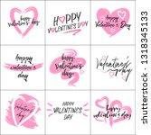 happy valentine's day 14 februar | Shutterstock .eps vector #1318345133