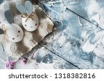 easter decoration for home ... | Shutterstock . vector #1318382816