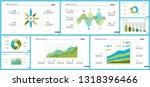 business inforgraphic design... | Shutterstock .eps vector #1318396466