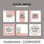 modern promotion square web... | Shutterstock .eps vector #1318410269