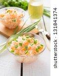 sauerkraut with carrot and onion | Shutterstock . vector #131841374