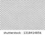 grid metal chain link. vector... | Shutterstock .eps vector #1318414856