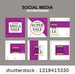 modern promotion square web... | Shutterstock .eps vector #1318415330