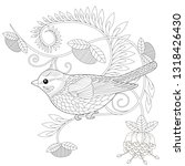 coloring pages. coloring book... | Shutterstock .eps vector #1318426430