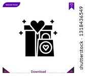 gifts  icon vector . best...