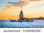 maiden's tower   istanbul ...   Shutterstock . vector #1318482200