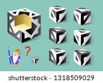 logic puzzle game for children... | Shutterstock .eps vector #1318509029