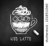 vector black and white sketch...   Shutterstock .eps vector #1318511060